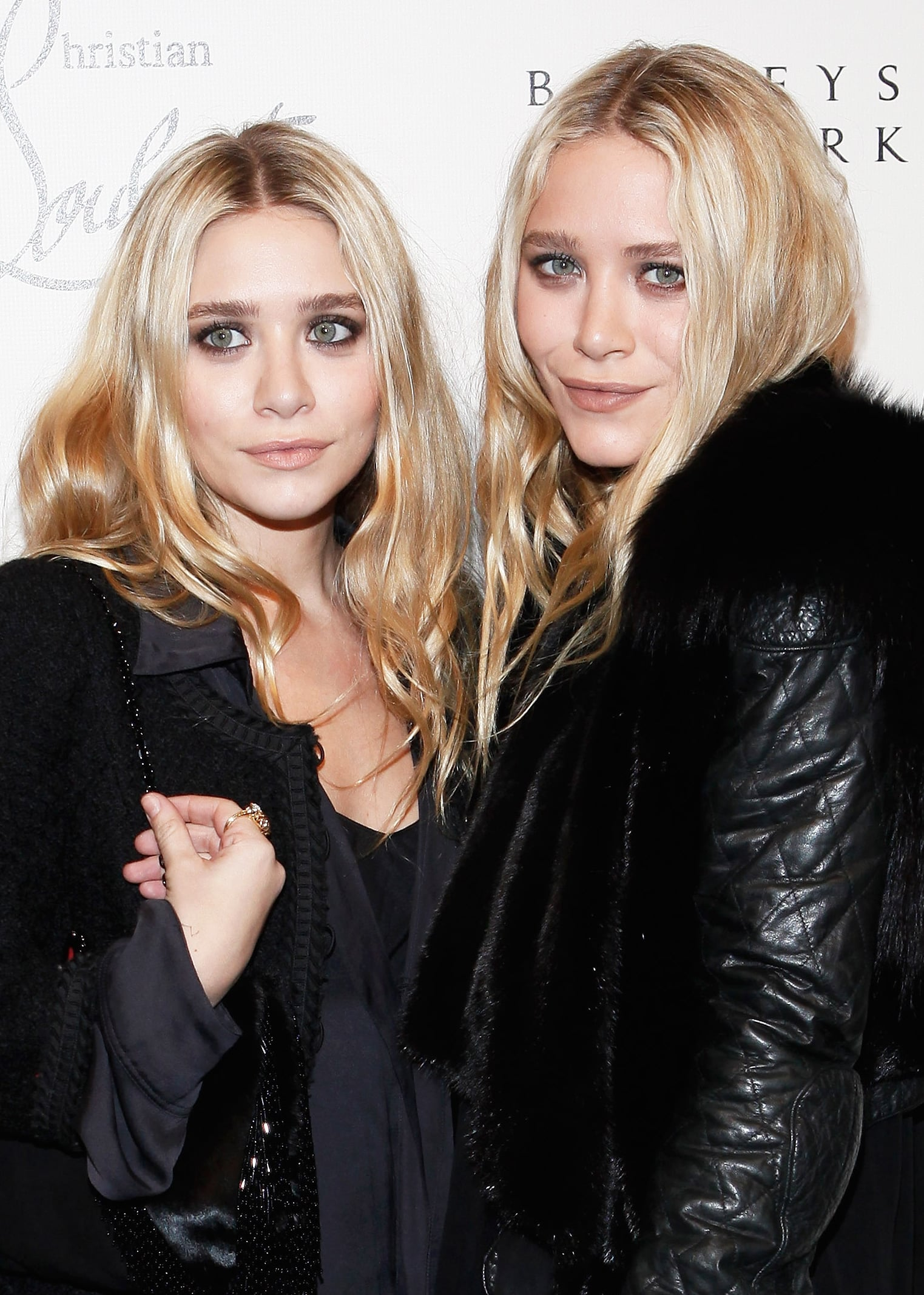 At a Christian Louboutin cocktail party in 2011, the pair dressed up in black with matching beauty looks.