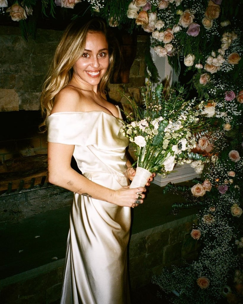 Miley Cyrus Wedding Dress.Miley Cyrus Wedding Dress Popsugar Fashion
