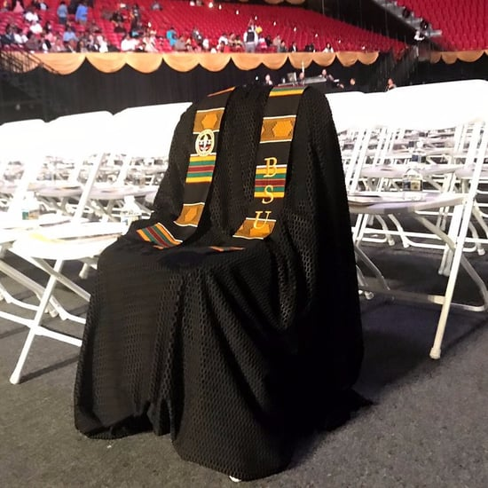 Richard Collins III Honored at University Graduation