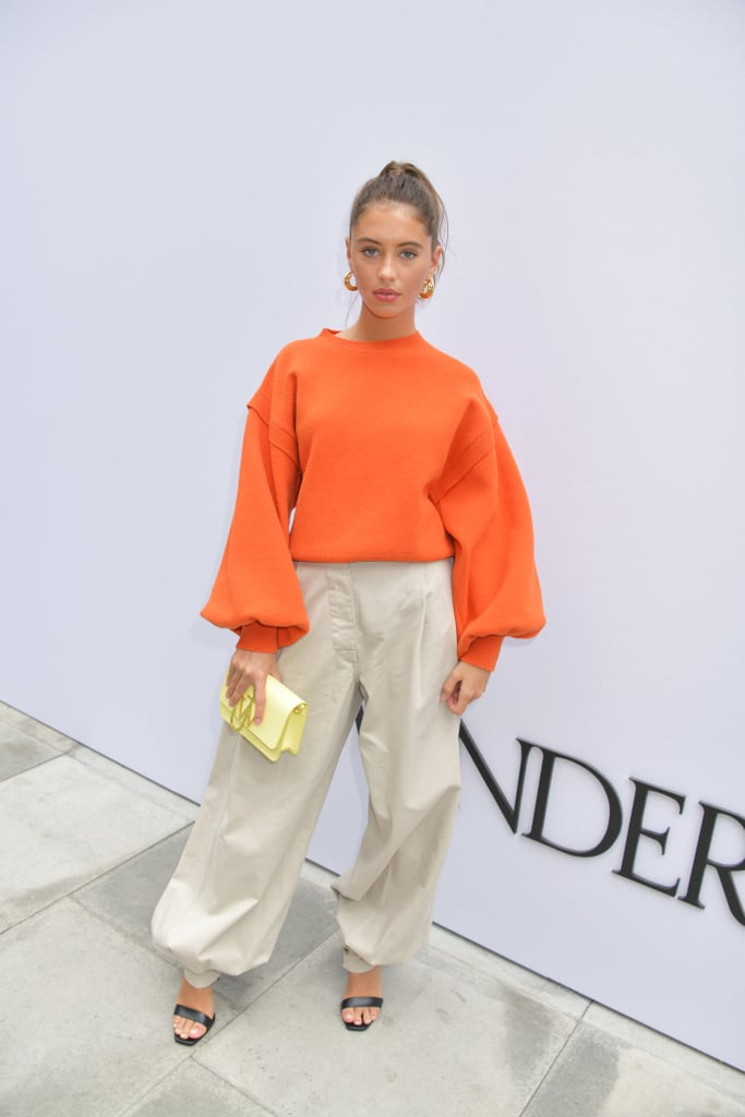 Iris Law at the JW Anderson London Fashion Week Show