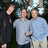 Howard Stern, Jerry Seinfeld, and Alec Baldwin mingled at the party.