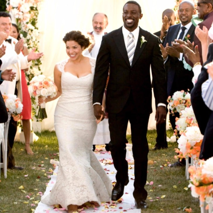 America Ferrera in Our Family Wedding   Movie Wedding Gowns Worn by ...