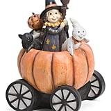 Resin Boo Pumpkin Family Decor