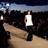 Kendall walked against the backdrop of the setting sun during the Givenchy Spring 2016 show.