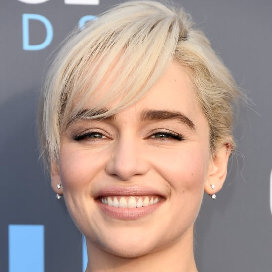 Emilia Clarke's Critics' Choice Awards Nude Lip