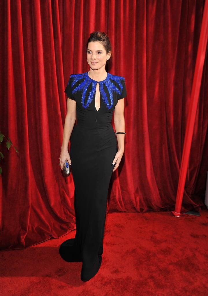 Photos of Sandra Bullock at the 2010 Screen Actors Guild Awards