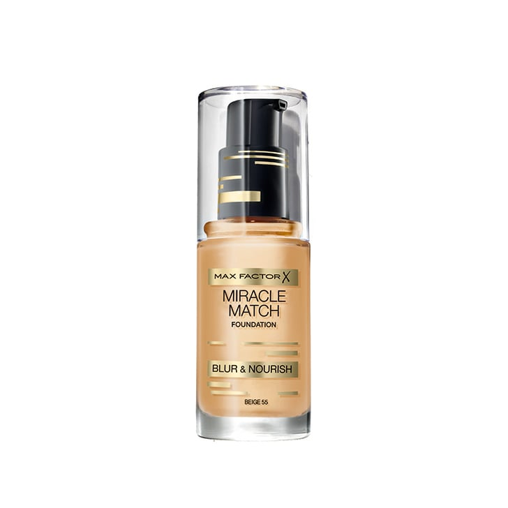 Max Factor Miracle Match Foundation, $31.95