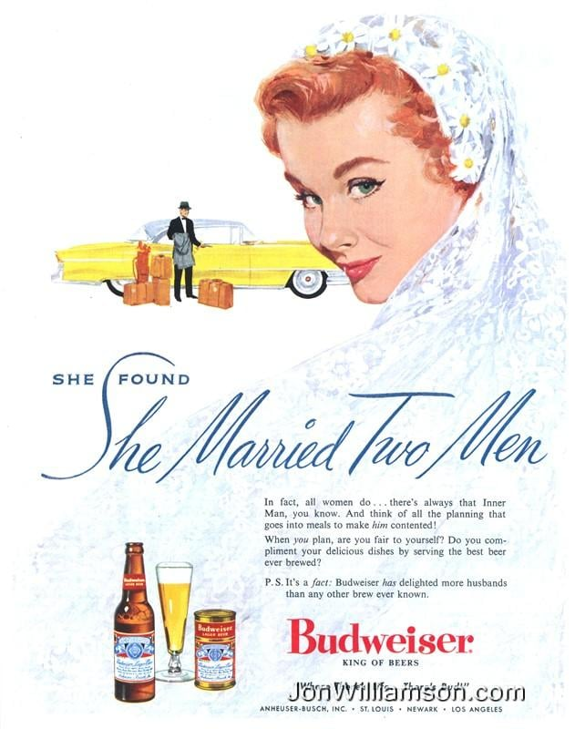 Hey brides, don't forget you have to keep both your man and his inner man contented!