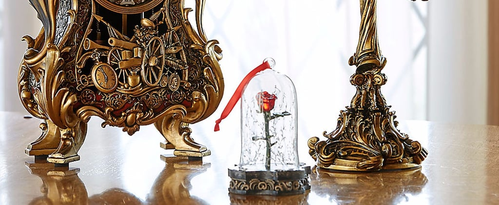 A Light-Up Enchanted Rose Ornament Exists, So Can Christmas Come Early?