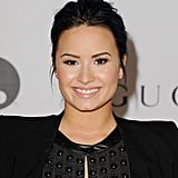 Demi Lovato proved that Winter isn't drying out her skin by sporting a dewy flush.