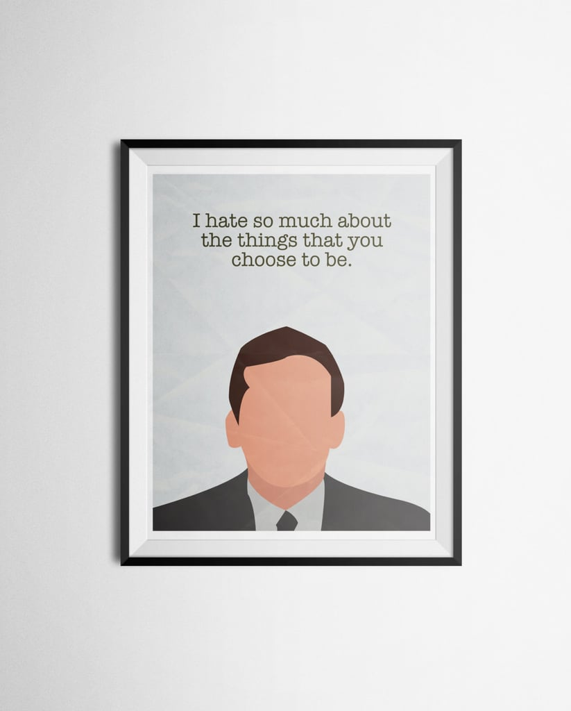 The Office Quote Poster ($14)