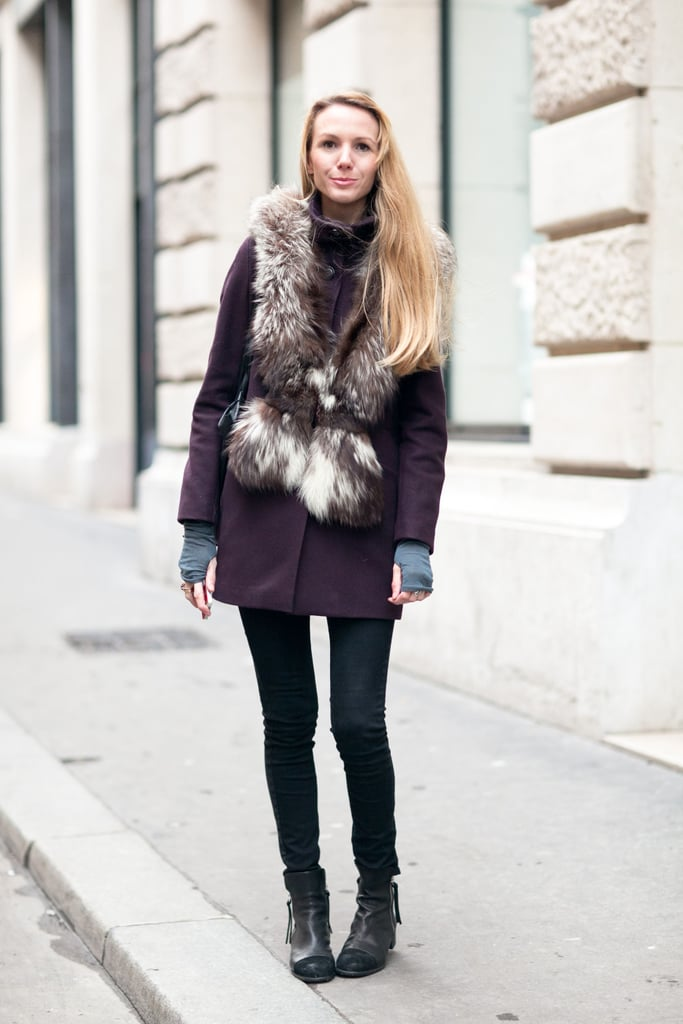 Luxurious texture and understated silhouettes result in a polished, statement-worthy style. Source: Adam Katz Sinding
