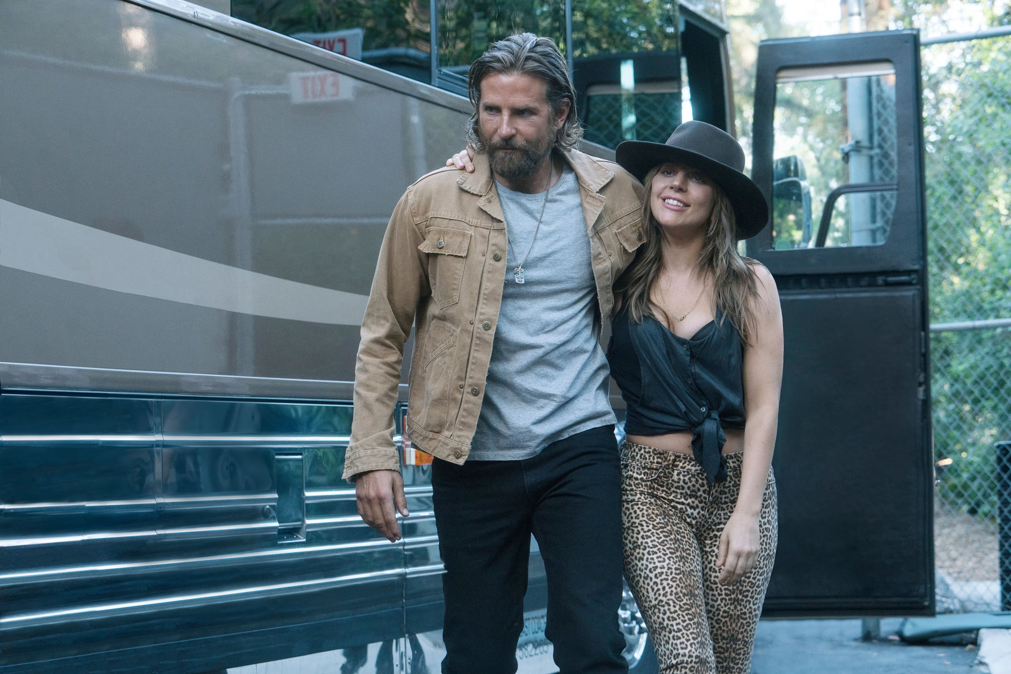 A STAR IS BORN, l-r: Bradley Cooper, Lady Gaga, 2018. ph: Clay Enos/ Warner Bros./courtesy Everett Collection