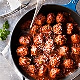 Cook meatballs IN their sauce.
