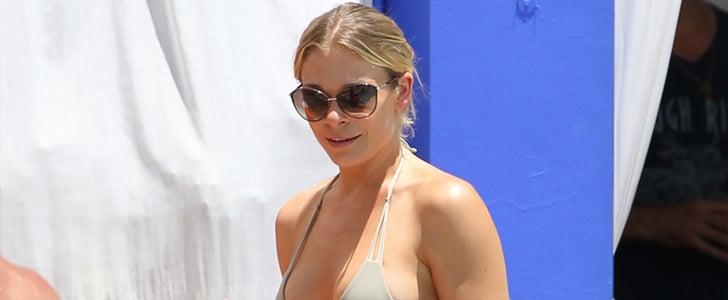 LeAnn Rimes Wears a Bikini in Miami 2014 | Pictures