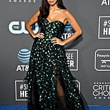 Jameela on the Critics' Choice Red Carpet