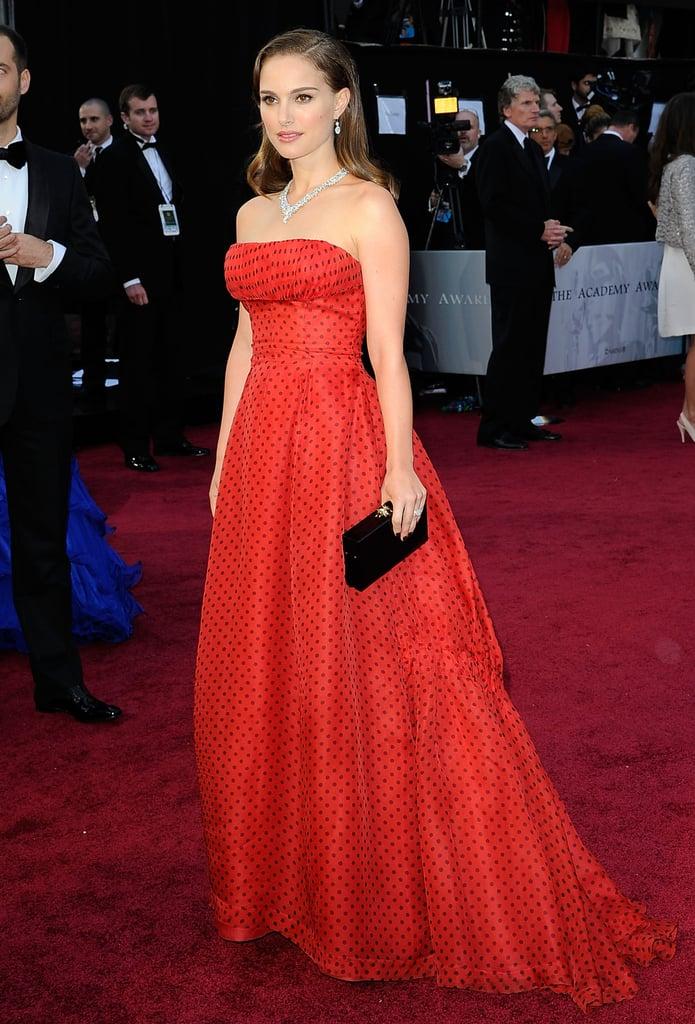 Natalie Portman at the 2012 Academy Awards