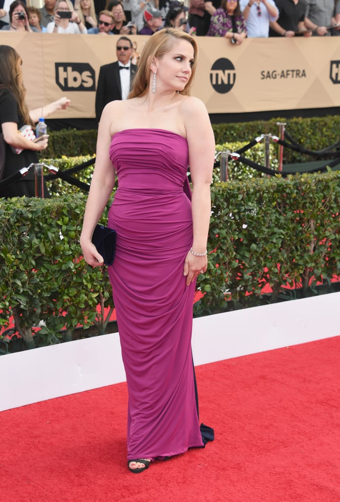 Anna Chlumsky 2017 Sag Awards Red Carpet Style Pictures