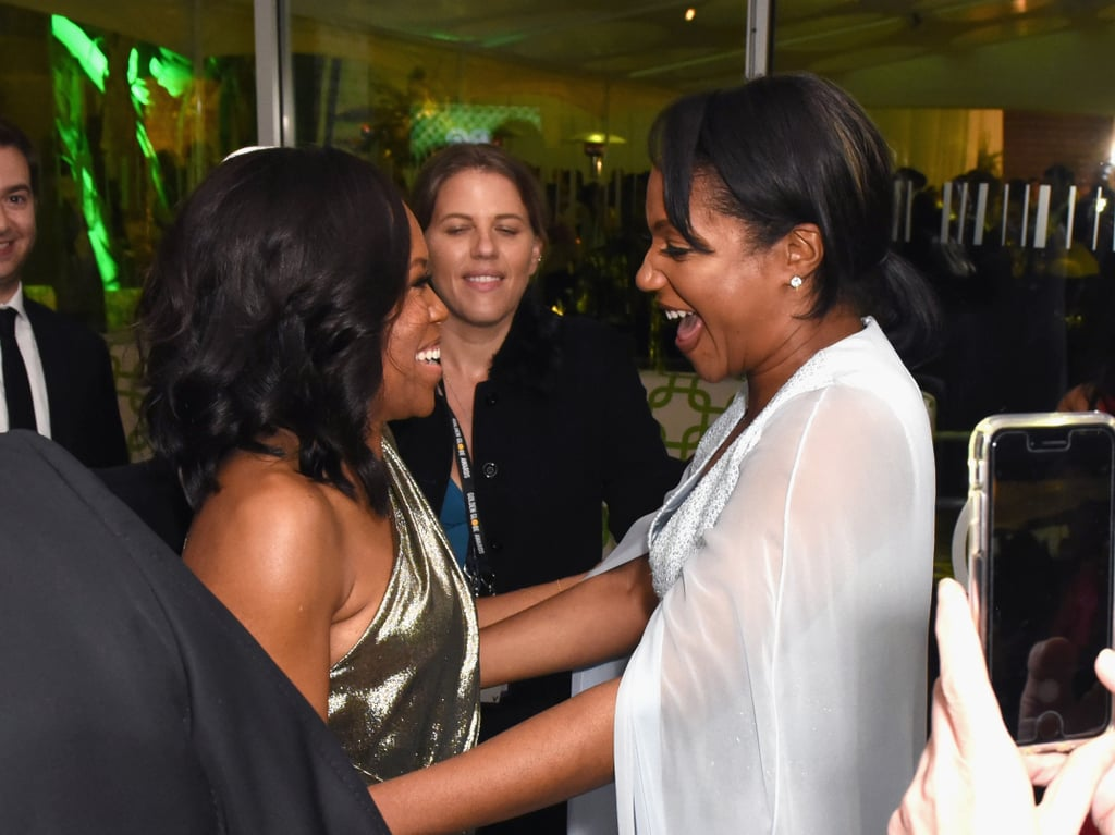Pictured: Regina King and Tiffany Haddish