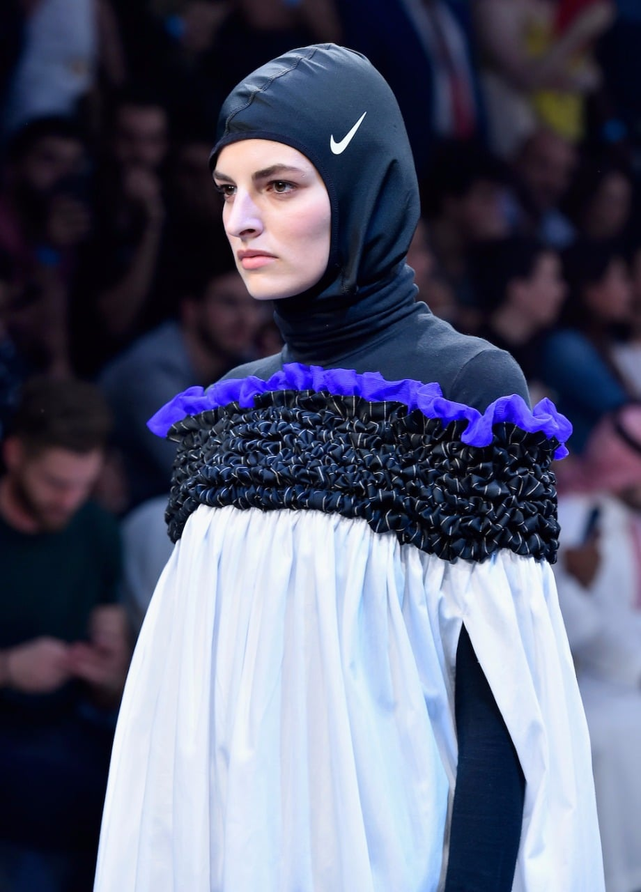 Nike Pro Hijab International Debut Popsugar Fashion Middle East