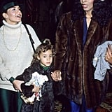 Donna Summer and daughter Mimi are spotted in LA in 1979.