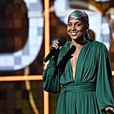 Alicia Keys No Makeup Grammys 2019