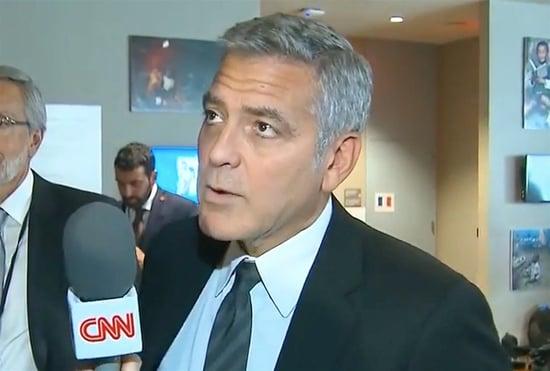 CNN Breaks Brangelina News to Clooney