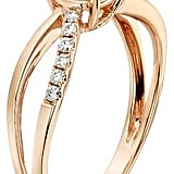 1.12 CT. T.W. Round Moissanite Engagement Prong Set Ring  ($720)