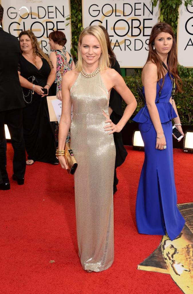 Naomi Watts at the Golden Globes 2014