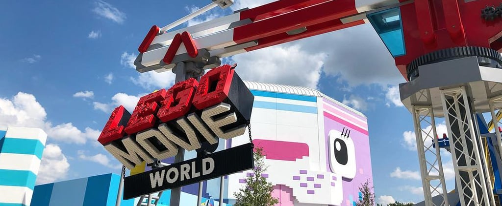 Pictures of Legoland's Lego Movie World Open