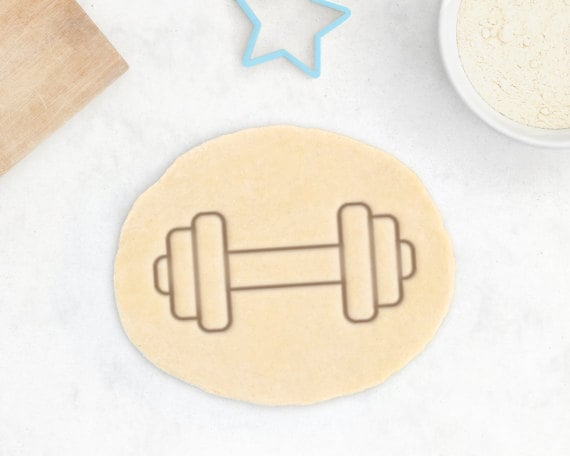 Dumbbell Cookie Cutters