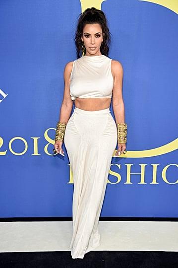 Kim Kardashian's Outfit at CFDA Awards 2018