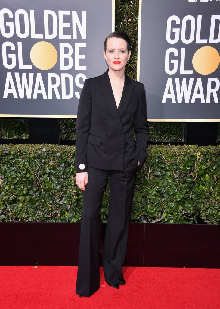 Women Who Wore Pants to Golden Globes 2018