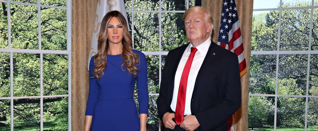 Melania Trump Wax Figure Pictures and Twitter Reactions