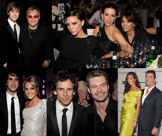 Photos of Victoria Beckham, Chace Crawford, Eva Longoria, Ben Stiller, Claire Danes at Elton John's 17th Annual Oscar Party