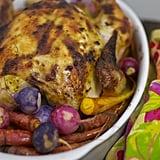 Dijon Roast Chicken With Spring Vegetables
