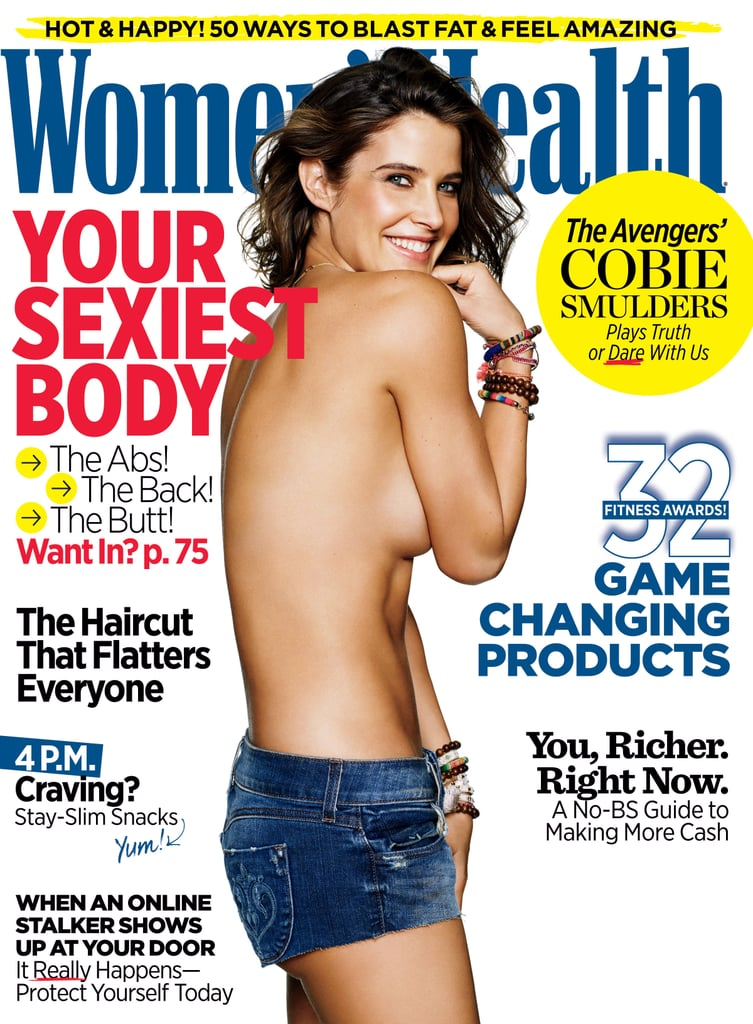 Cobie Smulders Women's Health Magazine Cover May 2015 | POPSUGAR ...
