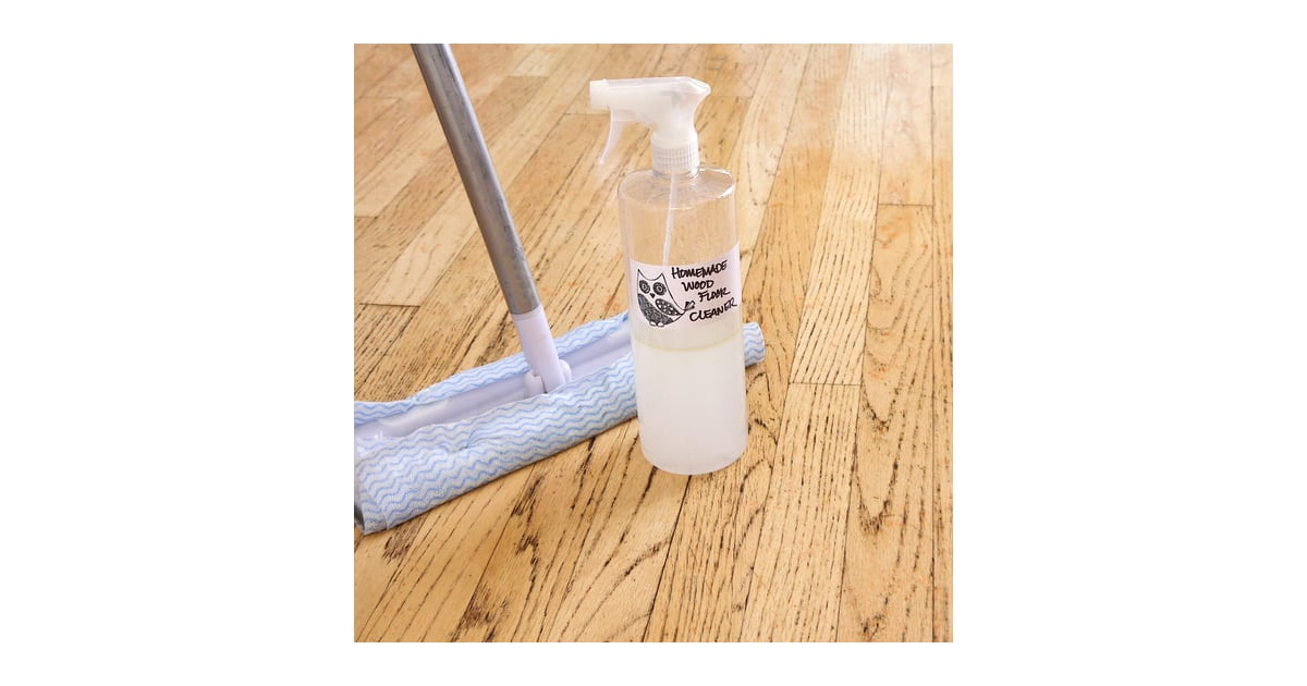Wood floor cleaner diy cleaning products popsugar for Wood floor cleaner diy