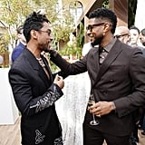 Miguel and Usher at the 2020 Roc Nation Brunch in LA