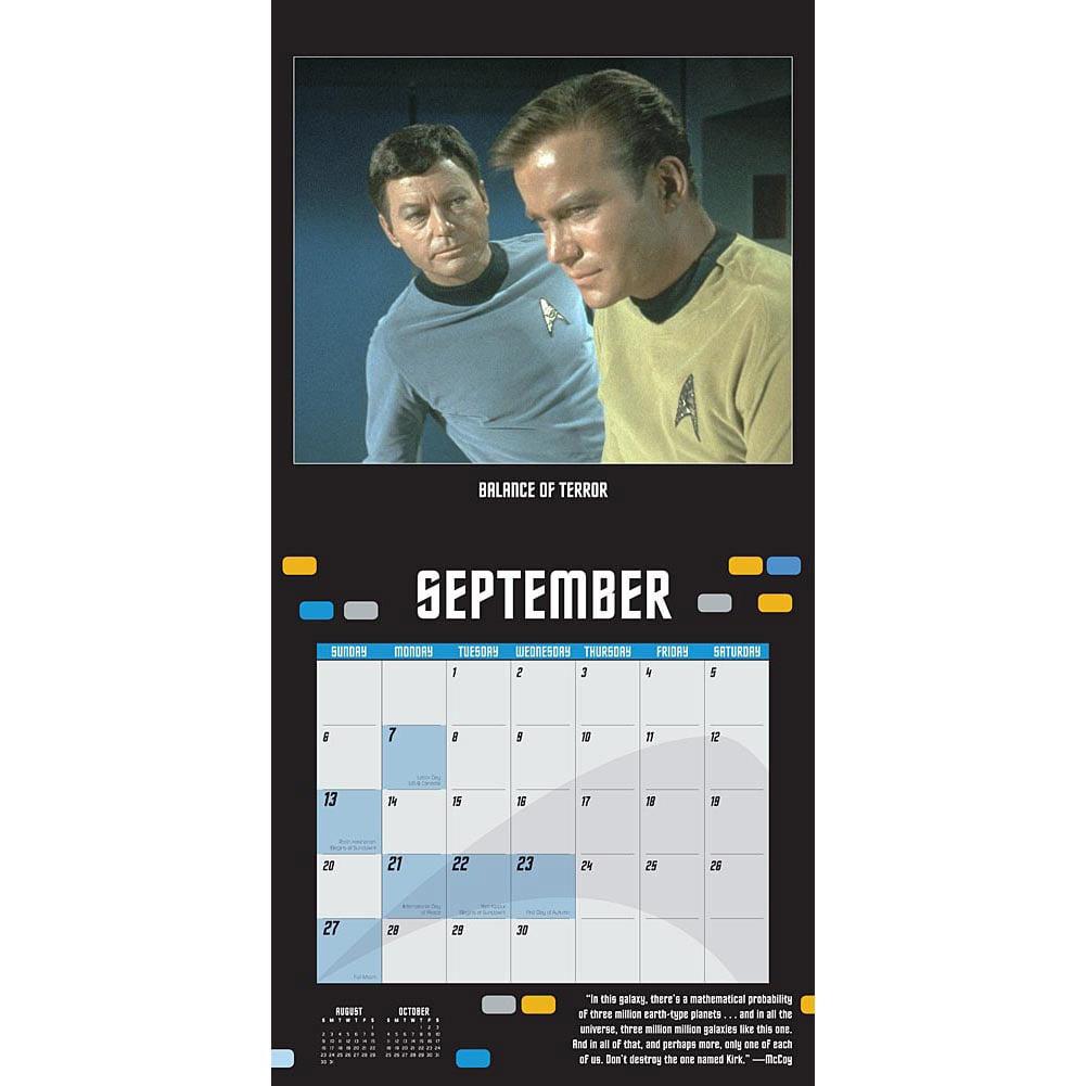 Star Trek Original Series 2015 Wall Calendar ($15)