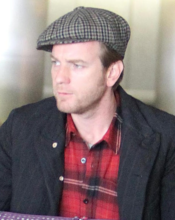 Photos of Ewan McGregor and Wife Eve at LAX