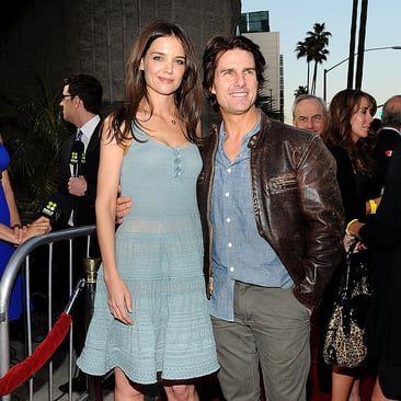 Pictures of Katie Holmes and Tom Cruise at The Kennedys Premiere