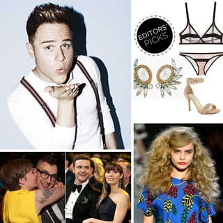 Celeb Fashion Beauty News: Olly Murs, Marc Jacobs Runway
