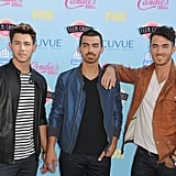 The Jonas Brothers at the Teen Choice Awards in 2013