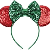 Disney Minnie Mouse Christmas Headband
