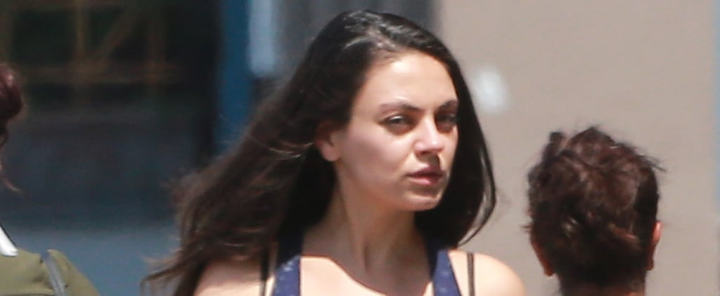 Mila Kunis Steps Out For Lunch With a Friend Following Her Pregnancy News