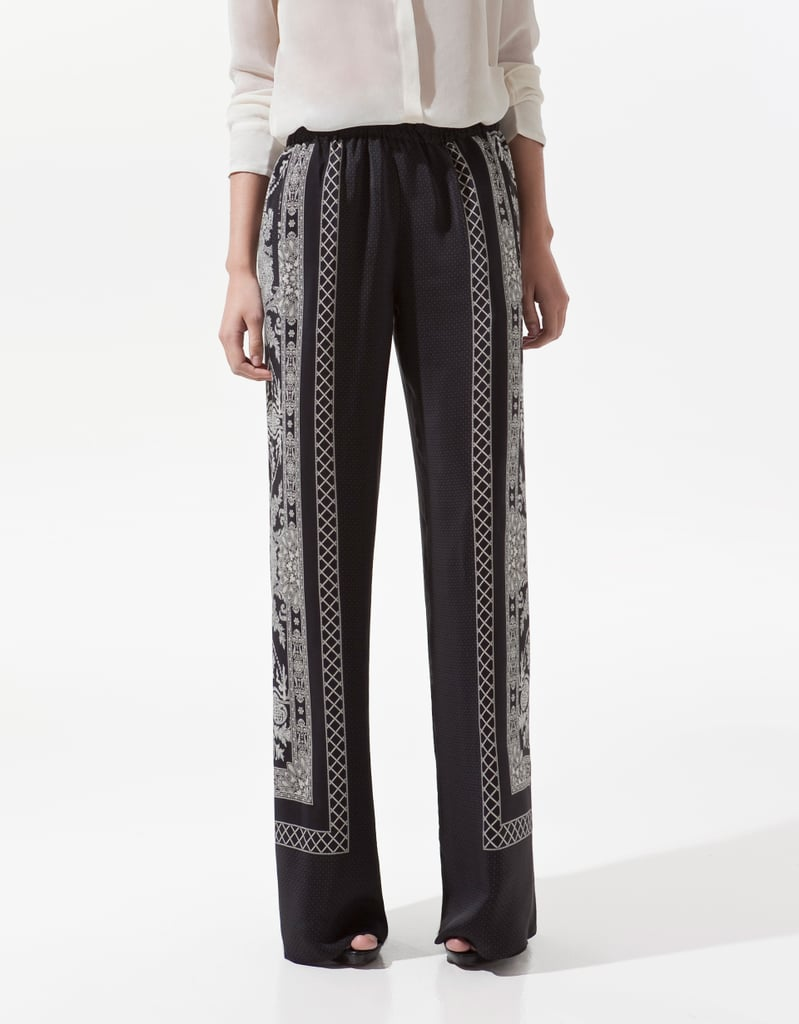 Keep your stems cooled off via wide-leg, breezy pants — although with this pair, you certainly won't be sacrificing your stylish sensibility.