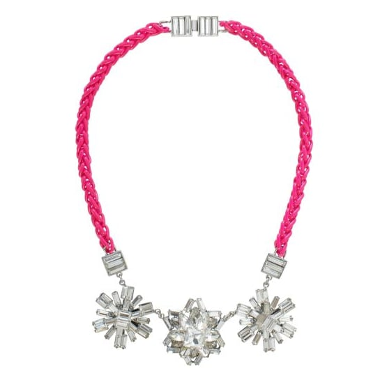 Add a pop of color to your look with this fun Kate Spade Electric Gardens necklace ($138, originally $198).