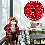 Countdown to Christmas Wall Decor With Aspen Santa