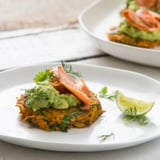 Sam Wood Spring Sweet Potato Fritter Recipe